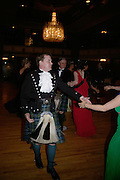 Lord Harry Dalmany, The Royal Caledonian Ball 2007. Grosvenor House. 4 May 2007.  -DO NOT ARCHIVE-© Copyright Photograph by Dafydd Jones. 248 Clapham Rd. London SW9 0PZ. Tel 0207 820 0771. www.dafjones.com.