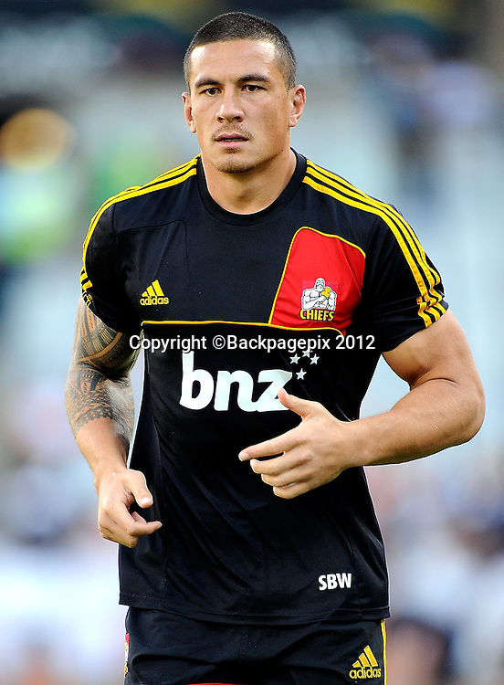 Sonny Bill Williams from Chiefs. Free State Stadium, Bloemfontein.<br /> &copy;DeneseLups/BackpagePix
