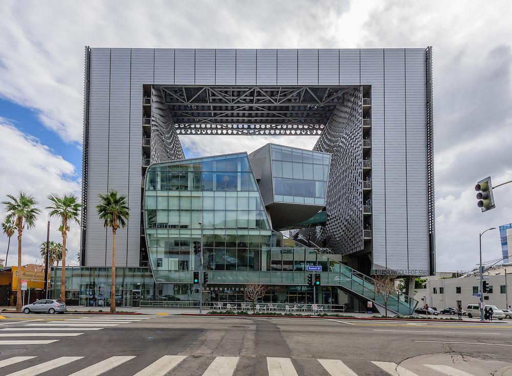 Emerson College LA, 5960 Sunset Boulevard,<br /> Los Angeles, CA designed by architect Thom Mayne