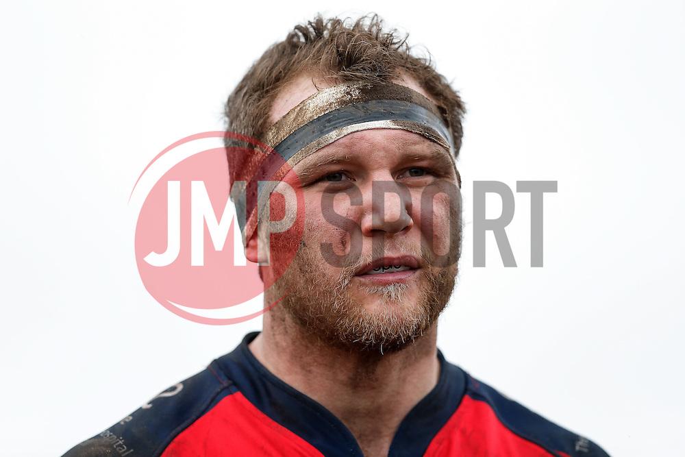 Bristol Rugby Flanker Nick Koster looks on - Mandatory byline: Rogan Thomson/JMP - 06/02/2016 - RUGBY UNION - Clifton Lane - Rotherham, England - Rotherham Titans v Bristol Rugby - Greene King IPA Championship.