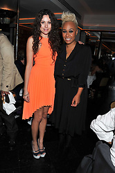 Left to right, ELIZA DOOLITTLE and EMELI SANDE at a dinner to celebrate the 30th anniversary of Le Caprice, Arlington Street, London SW1 on 4th October 2011.