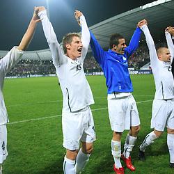 20081011: Football - Soccer - FIFA 2010 qualifications, Slovenia vs Northern Ireland