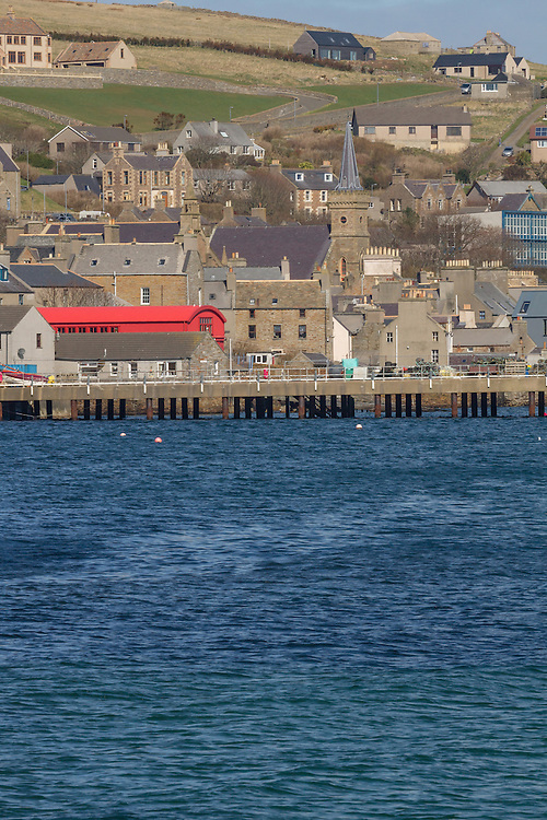 Stromness on mainland Orkney on a sunny summer day.