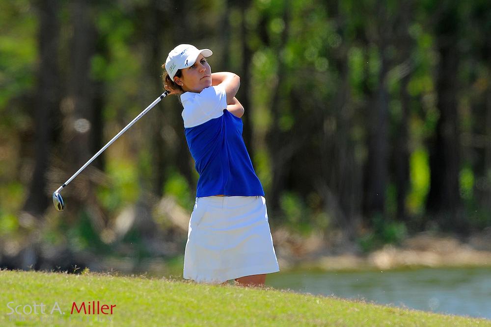 Jennifer Johnson during the final round of the LPGA Futures Tour's Daytona Beach Invitational at LPGA International's Championship Course on April 3, 2011 in Daytona Beach, Florida... ©2011 Scott A. Miller