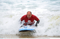 15 June 2013; Rory Best, British & Irish Lions, during a surfing lesson on Bondi Beach. British & Irish Lions Tour 2013, Surfing at Bondi Beach, Bondi Beach, Sydney, NSW, Australia. Picture credit: Stephen McCarthy / SPORTSFILE