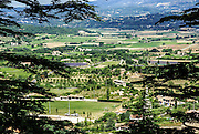 Bonnieux is a commune in the Vaucluse department in the Provence-Alpes-Côte d'Azur region in southeastern France. In the plain below the village stands the notable Roman bridge the Pont Julien.