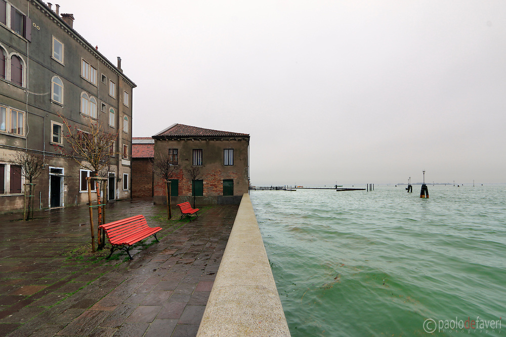The vaporetto nr. 12 station at Fondamenta Nove in Venice. If you want to go to Burano, this is the waterbus line you have to take.