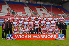 080128 Wigan Warriors Photo-Call