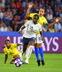 France's Viviane Asseyi during FIFA Women's World Cup France group A match France v Brazil on June 23, 2019 in Le Havre, France. France won 2-1 after extra time reaching quarter-finals. Photo by Christian Liewig/ABACAPRESS.COM