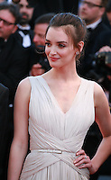 Actress Charlotte Le Bon at the gala screening for the film Inside Out at the 68th Cannes Film Festival, Monday May 18th 2015, Cannes, France