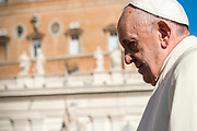 Pope Francis during his weekly audience at St.Peter's Square in Vatican city, on November 8, 2017.