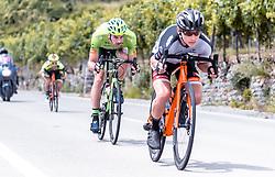 08.07.2019, Wiener Neustadt, AUT, Ö-Tour, Österreich Radrundfahrt, 2. Etappe, von Zwettl nach Wiener Neustadt (176,9 km), im Bild Andreas Graf (Hrinkow Advarics Cycleang, AUT), Felix Engelhardt (Tirol KTM Cycling Team, GER) // Andreas Graf (Hrinkow Advarics Cycleang, AUT), Felix Engelhardt (Tirol KTM Cycling Team, GER) during 2nd stage from Zwettl to Wiener Neustadt (176,9 km) of the 2019 Tour of Austria. Wiener Neustadt, Austria on 2019/07/08. EXPA Pictures © 2019, PhotoCredit: EXPA/ JFK