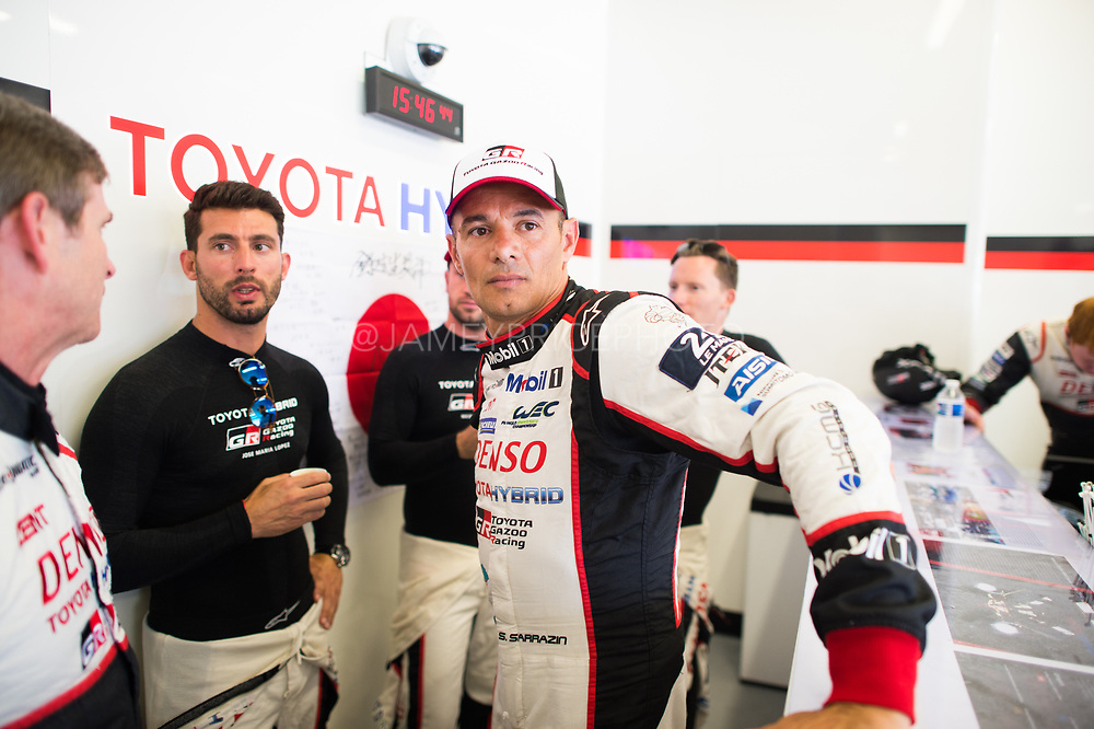 June 13-18, 2017. 24 hours of Le Mans. Stéphane Sarrazin, Toyota Racing, Toyota TS050 Hybrid
