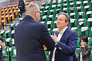 DESCRIZIONE : Beko Legabasket Serie A 2015- 2016 Dinamo Banco di Sardegna Sassari - Olimpia EA7 Emporio Armani Milano<br /> GIOCATORE : Jasmin Repesa Federico Pasquini<br /> CATEGORIA : Allenatore Coach Before Pregame Ritratto<br /> SQUADRA : Dinamo Banco di Sardegna Sassari<br /> EVENTO : Beko Legabasket Serie A 2015-2016<br /> GARA : Dinamo Banco di Sardegna Sassari - Olimpia EA7 Emporio Armani Milano<br /> DATA : 04/05/2016<br /> SPORT : Pallacanestro <br /> AUTORE : Agenzia Ciamillo-Castoria/C.AtzoriCastoria/C.Atzori