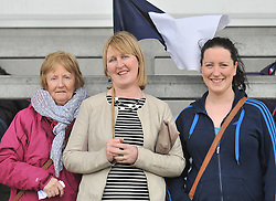 Up for the cup final, Ann Dever, with Maura and Aine Dever.<br /> Pic Conor McKeown