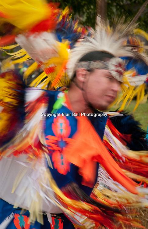 Ames Plantation Indian dance at Fall Festival.