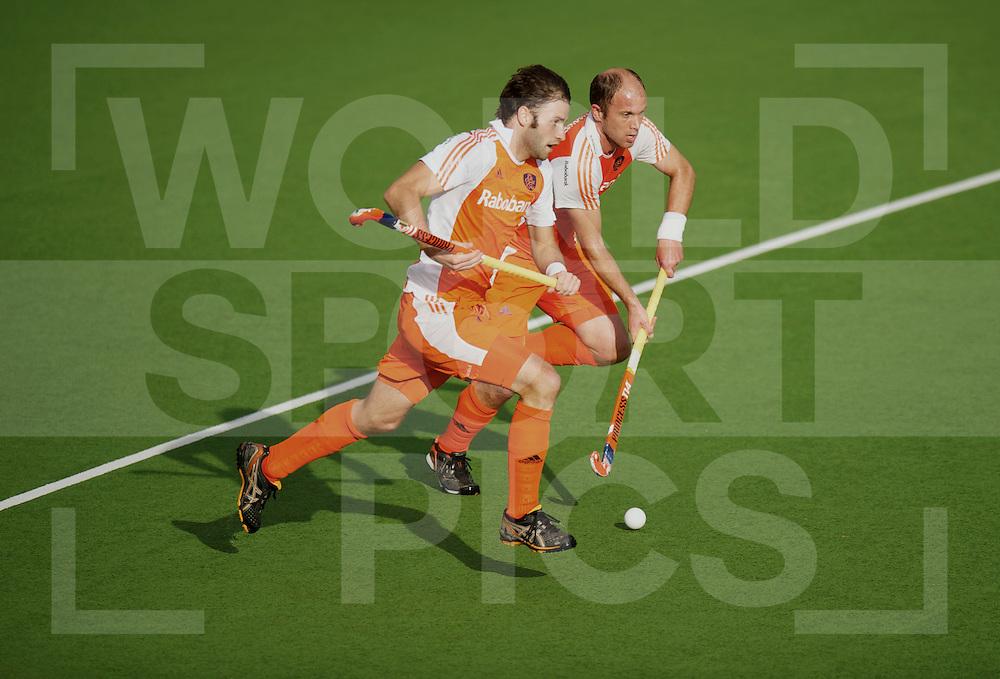 AUCKLAND - Champions Trophy men.Netherlands v New Zealand.foto: Rogier Hofman en Teun de Nooijer..FFU Press Agency  COPYRIGHT FRANK UIJLENBROEK..