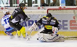 AUT, EBEL, Dornbirner Eishockey Club vs EC VSV.07.09.2012. Messestadion, Dornbirn, AUT, EBEL, Dornbirner Eishockey Club vs EC VSV, 1. Runde, im Bild Patrick DesRochers, (Dornbirner Eishockey Club, #37) during the Erste Bank Icehockey League 1nd round match between Dornbirner Eishockey Club and EC VSV at the Exhibition Stadium, Dornbirn, Austria on 2012/09/07, EXPA Pictures © 2012, PhotoCredit: EXPA/ Peter Rinderer