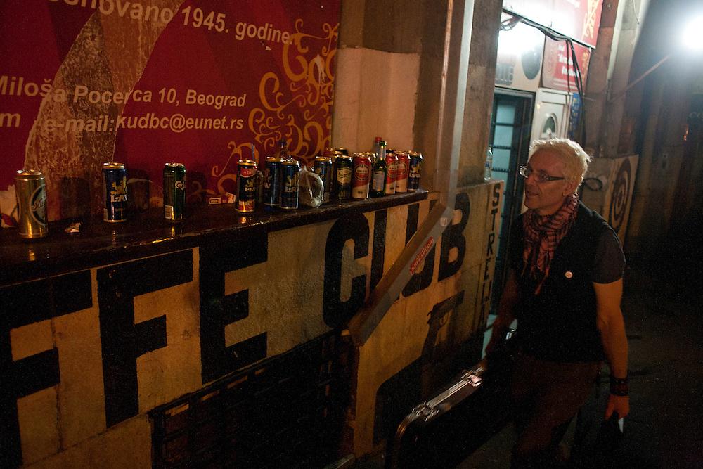 Kultur Shock in Belgrade, Serbia..Val leaves the Gun Club