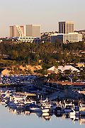 Fashion Island And The Back Bay In Newport Beach Orange County, California