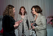 MARGOT BOWMAN; KATHRYN BLAIR; CHERIE BLAIR English National Ballet launches its Christmas season with a partyu before s performance of The Nutcracker at the Coliseum.  St. Martin's Lane Hotel.  London. 16 December 2009 *** Local Caption *** -DO NOT ARCHIVE-© Copyright Photograph by Dafydd Jones. 248 Clapham Rd. London SW9 0PZ. Tel 0207 820 0771. www.dafjones.com.<br /> MARGOT BOWMAN; KATHRYN BLAIR; CHERIE BLAIR English National Ballet launches its Christmas season with a partyu before s performance of The Nutcracker at the Coliseum.  St. Martin's Lane Hotel.  London. 16 December 2009
