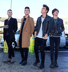 DEC 06 2014 Union J album signing, Morrisons