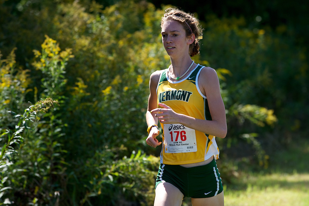 The University of Vermont cross country meet against Columbia and St. Michael's at the Catamount Family Outdoor Center on September 11, 2011 in Williston, Vermont