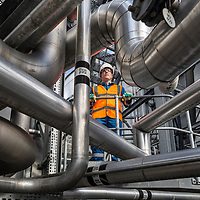 08/09/16 Tadcaster Yorkshire UK - Molson Coors Brewery - Waste water treatmemt plant
