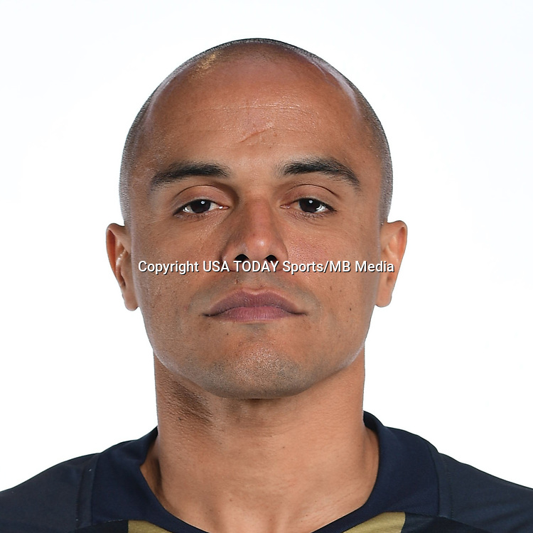 Feb 25, 2017; USA; Philadelphia Union player Fabinho poses for a photo. Mandatory Credit: USA TODAY Sports