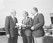 G.A.A. presentation of cheque at Croke Park..29.06.1974  29th June 1974