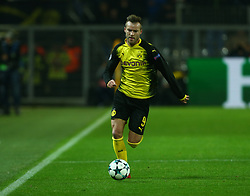 November 21, 2017 - Dortmund, Germany - Andriy Yarmolenko of Borussia Dortmund   during UEFA Champion  League Group H Borussia Dortmund between Tottenham Hotspur played at Westfalenstadion, Dortmund, Germany 21 Nov 2017  (Credit Image: © Kieran Galvin/NurPhoto via ZUMA Press)