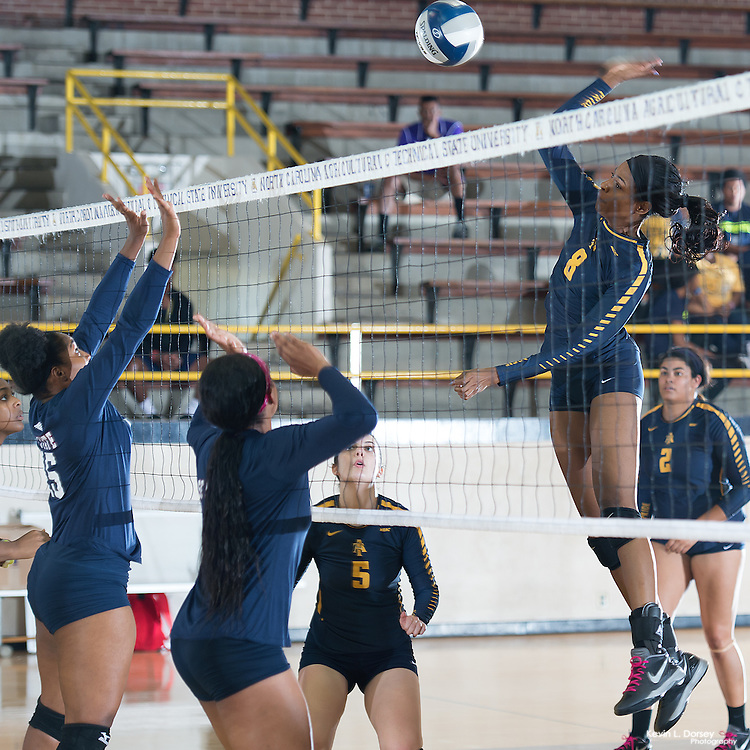 2016 A&T Volleyball vs SCSU
