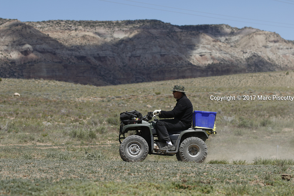 SHOT 5/20/17 1:49:05 PM - Emery County is a county located in the U.S. state of Utah. As of the 2010 census, the population of the entire county was about 11,000. Includes images of mountain biking, agriculture, geography and Goblin Valley State Park. (Photo by Marc Piscotty / © 2017)