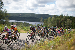 Mieke Kröger (GER) of CANYON//SRAM Racing rides near the top of the second categorised climb of Stage 3 of the Ladies Tour of Norway - a 156.6 km road race, between Svinesund (SE) and Halden on August 20, 2017, in Ostfold, Norway. (Photo by Balint Hamvas/Velofocus.com)