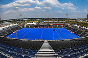 General stadium view ahead of  the Vitality Hockey Women's World Cup 2018 Pool C match between Germany and Argentina at the Lee Valley Hockey and Tennis Centre, QE Olympic Park, United Kingdom on 25 July 2018. Picture by Martin Cole.