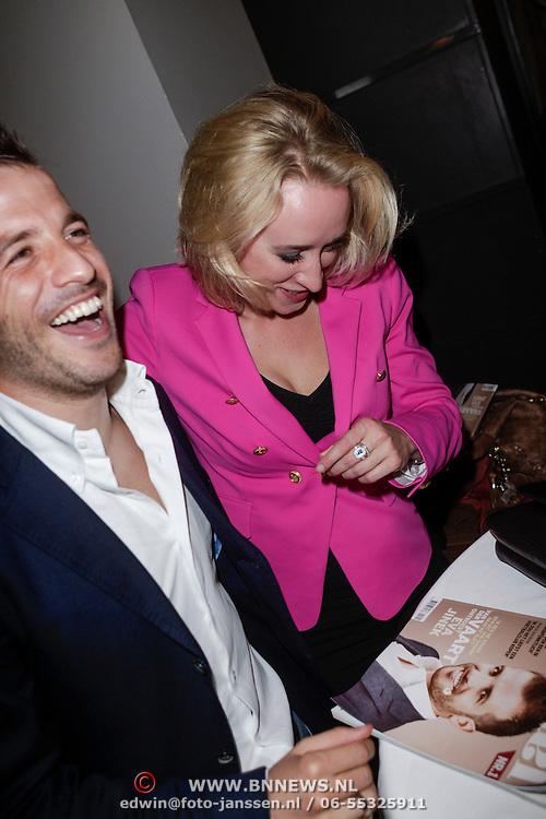 NLD/Amsterdam/20120503 - Lancering Rafael Magazine, Rafael van der Vaart en Eva Jinek