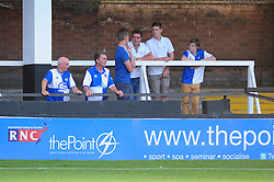 Bristol Rovers' fans at Hereford - Photo mandatory by-line: Dougie Allward/JMP - Tel: Mobile: 07966 386802 16/07/2013 - SPORT - FOOTBALL - Bristol -  Hereford United V Bristol Rovers - Pre Season Friendly