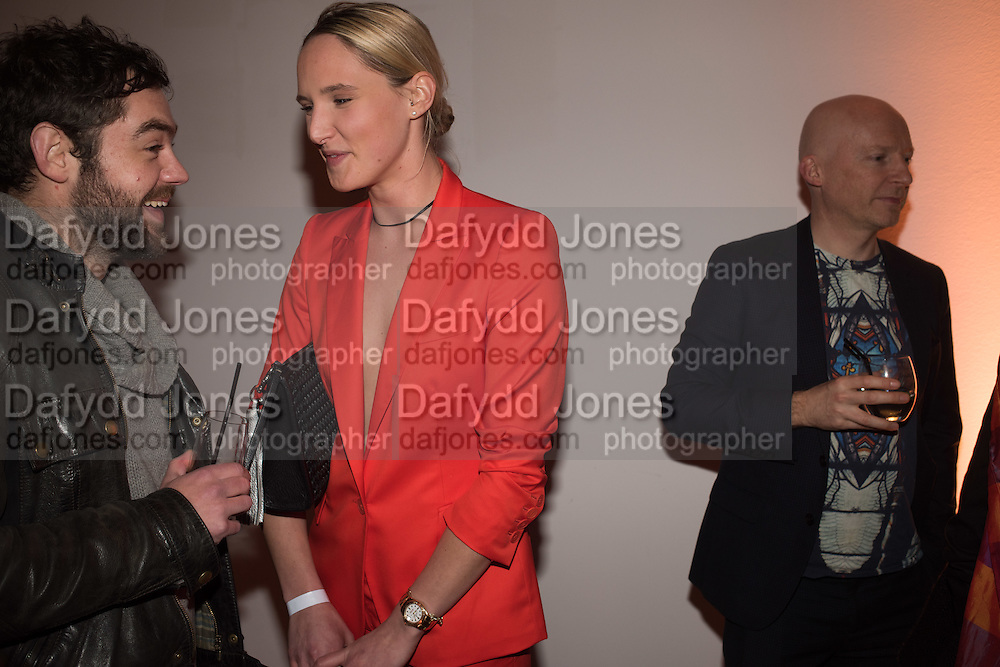 GEORGE HOWARD; OTTOLIE WINDSOR; MARCUS DU SOUTOY, Serpentine Gallery and Harrods host the Future Contempories Party 2016. Serpentine Sackler Gallery. London. 20 February 2016