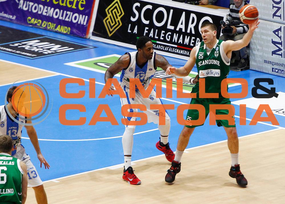 Capo dOrlando 27 Dicembre 2015<br /> BASKET Lega A Beko<br /> Betaland Orlandina Basket - Sidigas Avellino<br /> NELLA FOTO Ivan Buva<br /> FOTO CIAMILLO