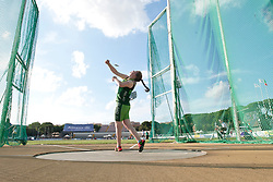 12 / 06 / 2016,  Noelle Lenihan (Charleville, Co. Cork), F38 class, North Cork Athletic Club pictured competing in the F57/58 Discus at the 2016 IPC Athletic European Championships in Grosseto, Italy