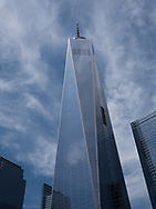 One World Trade Center in Battery Park City, New York.