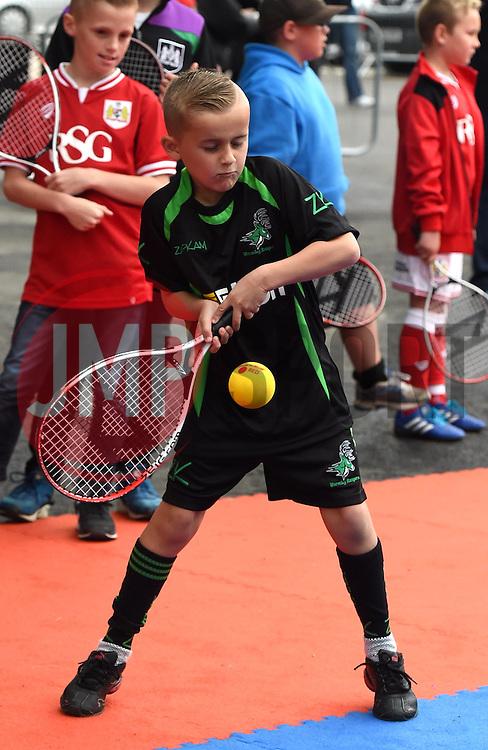 - Mandatory by-line: Paul Knight/JMP - Mobile: 07966 386802 - 03/10/2015 -  FOOTBALL - Ashton Gate Stadium - Bristol, England -  Bristol City v MK Dons - Sky Bet Championship