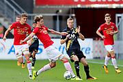 Wout Weghorst of AZ Alkmaar, Arno Verschueren of NAC Breda