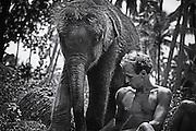 Sri Lanka, 1984. Lumière naturelle. Film.