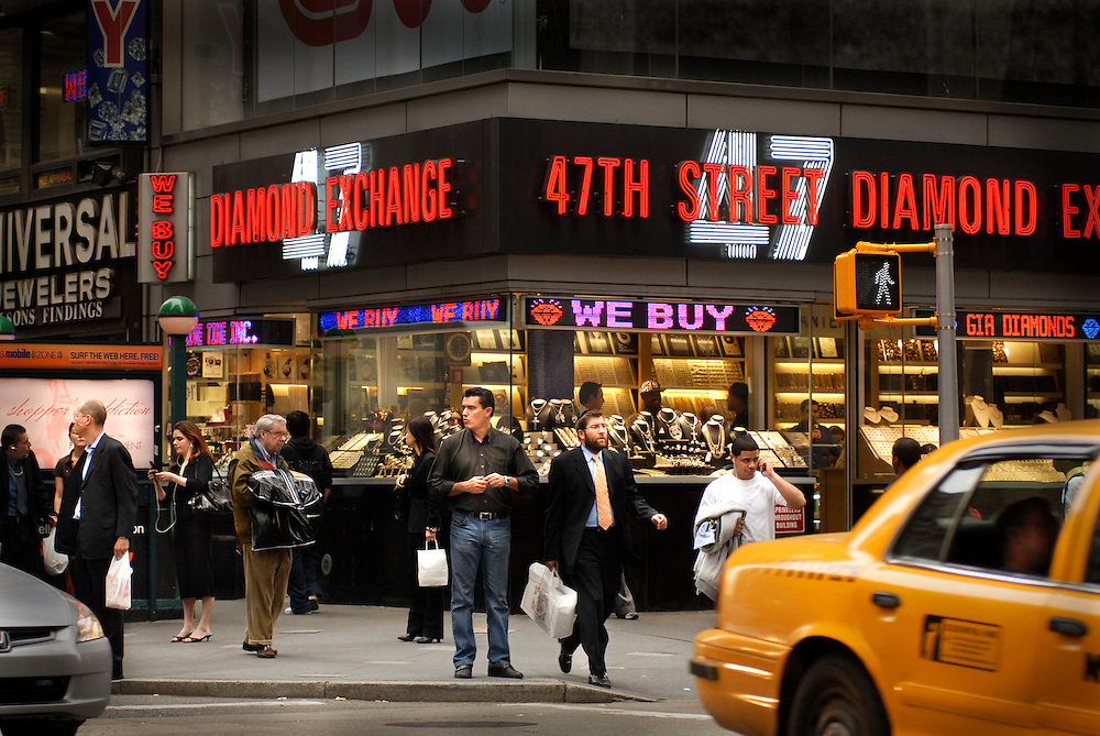 Merchants in New York City's  'Diamond Alley' (New York City's diamond center in Midtown Manhattan) are reporting retail sales of gold and other jewelry are rising. This suggests people are selling precious jewelry as the USA economy gets worse.