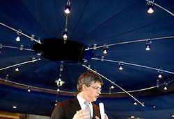 09-12-2006 VOLLEYBAL: CEV OP BEZOEK IN NEDERLAND: ROTTERDAM<br /> De board of Executive Committee CEV waren uitgenodigd door Rotterdam, Rotterdam Topsport en de NeVoBo voor de uitleg van O[peration Restore Confidence / Wethouder Lucas Bolsius<br /> ©2006-WWW.FOTOHOOGENDOORN.NL