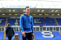 Joe Partington of Bristol Rovers arrives at The ABAX Stadium, for the Sky Bet League One fixture against Peterborough United - Mandatory by-line: Robbie Stephenson/JMP - 24/03/2018 - FOOTBALL - ABAX Stadium - Peterborough, England - Peterborough United v Bristol Rovers - Sky Bet League One