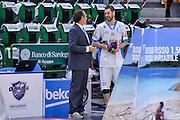 DESCRIZIONE : Beko Legabasket Serie A 2015- 2016 Playoff Quarti di Finale Gara3 Dinamo Banco di Sardegna Sassari - Grissin Bon Reggio Emilia<br /> GIOCATORE : Dino Seghetti Matteo Formenti<br /> CATEGORIA : Fair Play Before Pregame Arbitro Referee<br /> SQUADRA : Dinamo Banco di Sardegna Sassari<br /> EVENTO : Beko Legabasket Serie A 2015-2016 Playoff<br /> GARA : Quarti di Finale Gara3 Dinamo Banco di Sardegna Sassari - Grissin Bon Reggio Emilia<br /> DATA : 11/05/2016<br /> SPORT : Pallacanestro <br /> AUTORE : Agenzia Ciamillo-Castoria/L.Canu