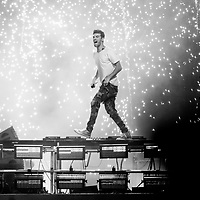 DENVER, CO -- September 14, 2018 -- The Chainsmokers perform at the Grandoozy Festival at Overland Park in Denver.  (PHOTO / REDLIGHTS AND REDEYES, Chip Litherland)