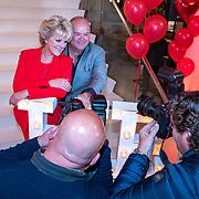 NLD/Amsterdam/20190521 - Perspresentatie musical Hello Dolly, Simone Kleinsma en Paul de Leeuw